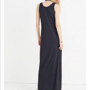 61f0bac5896 Madewell Dresses | Nwt Jersey Maxi Tank Dress Xs | Poshmark